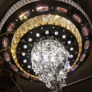 chandiler round crystal 3-1 light