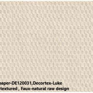 SW03-21 wallpaper-DE120031,Decortex-Luke basketweave ,textured , Faux-natural raw design
